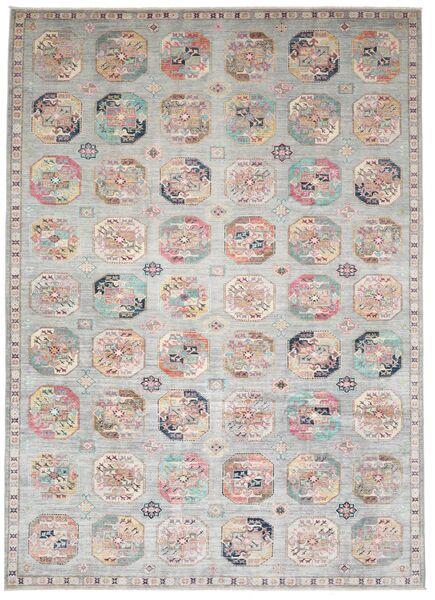 Mirage 絨毯 245X347 モダン 手織り 薄い灰色/ベージュ (ウール, アフガニスタン)