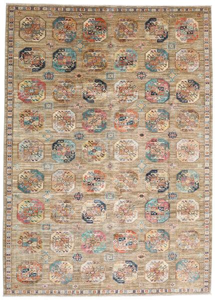 Mirage 絨毯 248X344 モダン 手織り 薄い灰色/薄茶色 (ウール, アフガニスタン)
