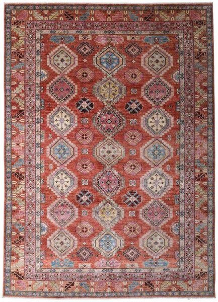 Ghazni 絨毯 241X337 モダン 手織り 深紅色の/濃い茶色 (ウール, アフガニスタン)