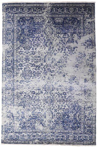 Damask Collection 絨毯 175X260 モダン 手織り 薄い灰色/濃いグレー ( インド)