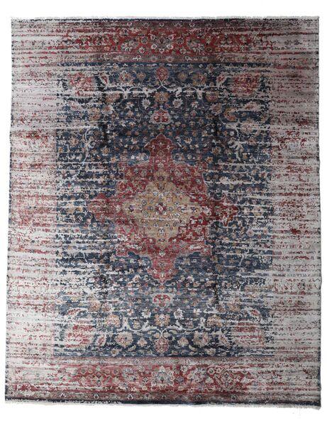 Damask Collection 絨毯 239X297 モダン 手織り 薄い灰色/濃いグレー ( インド)