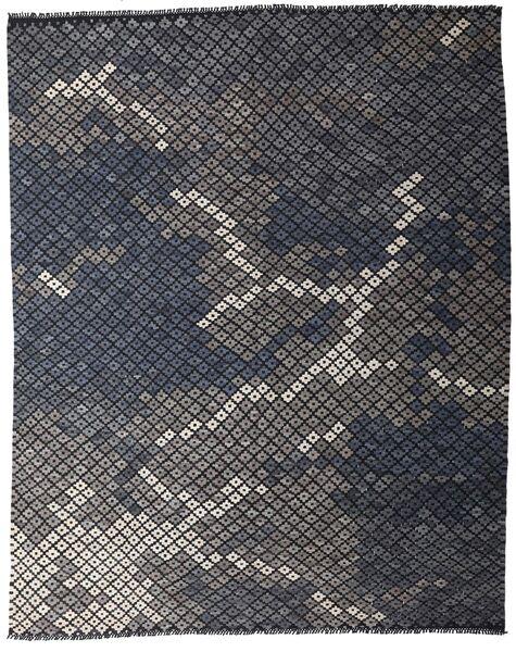 キリム モダン 絨毯 233X288 モダン 手織り 濃いグレー (ウール, アフガニスタン)