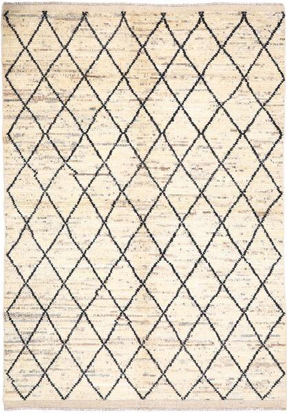 Moroccan Berber - Afghanistan 絨毯 171X236 モダン 手織り ベージュ/薄い灰色 (ウール, アフガニスタン)