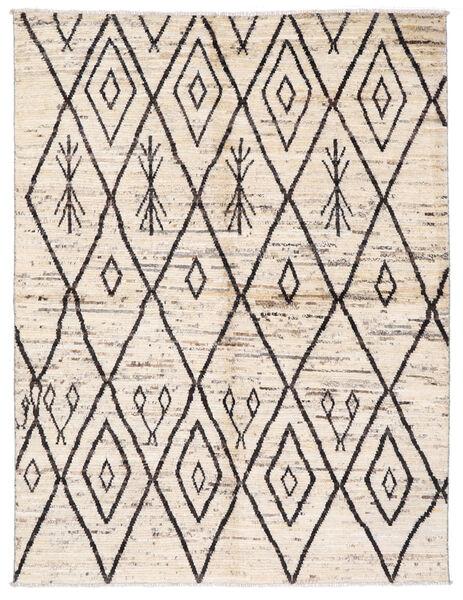 Moroccan Berber - Afghanistan 絨毯 170X222 モダン 手織り ベージュ/薄い灰色 (ウール, アフガニスタン)
