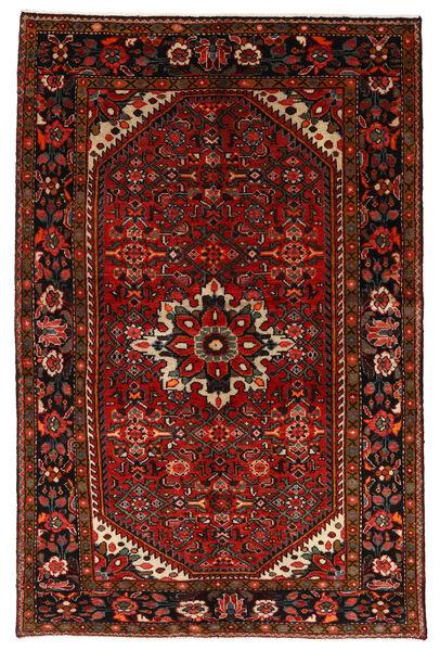 ホセイナバード 絨毯 147X225 オリエンタル 手織り 深紅色の/錆色 (ウール, ペルシャ/イラン)