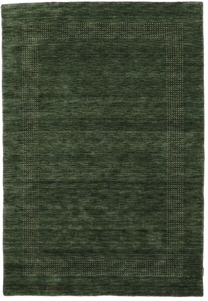 ハンドルーム Gabba - フォレストグリーン 絨毯 160X230 モダン 深緑色の (ウール, インド)