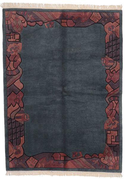 Himalaya 絨毯 170X229 モダン 手織り 濃いグレー/濃い紫 (ウール, インド)