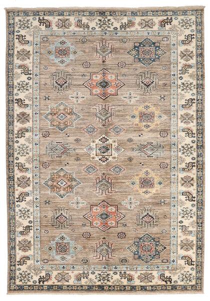 カザック Ariana 絨毯 175X247 モダン 手織り 薄い灰色/濃いグレー (ウール, アフガニスタン)