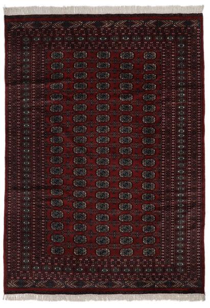 パキスタン ブハラ 2Ply 絨毯 184X262 オリエンタル 手織り 黒 (ウール, パキスタン)