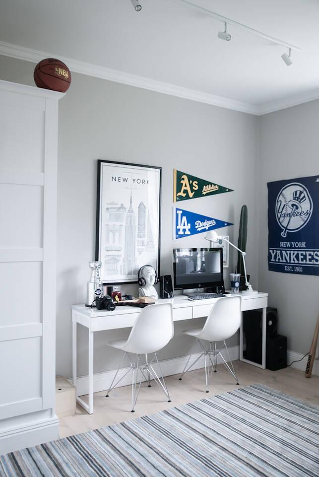 オフィス内の黒色の / グレーのてハンドルーム絨毯。