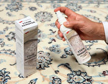 しみ取りステインリムーバー 絨毯 10X10 モダン 薄い灰色/ベージュ ( ベルギー)