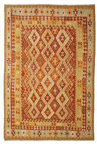 キリム アフガン オールド スタイル 絨毯 197X293 オリエンタル 手織り (ウール, アフガニスタン)