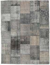 パッチワーク - Turkiet 絨毯 193X250 モダン 手織り 薄い灰色/濃いグレー (ウール, トルコ)