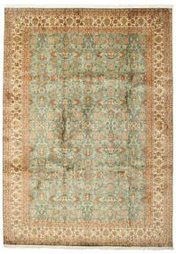 カシミール ピュア シルク 絨毯 223X313 オリエンタル 手織り (絹, インド)