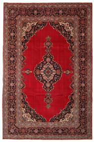 カシャン パティナ 絨毯 240X374 オリエンタル 手織り 深紅色の/濃い茶色 (ウール, ペルシャ/イラン)