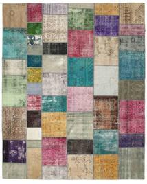 パッチワーク 絨毯 272X337 モダン 手織り 大きな (ウール, トルコ)