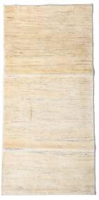 ギャッベ ペルシャ 絨毯 96X198 モダン 手織り ベージュ (ウール, ペルシャ/イラン)