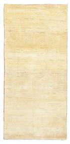 ギャッベ ペルシャ 絨毯 81X171 モダン 手織り 廊下 カーペット 黄色/ベージュ (ウール, ペルシャ/イラン)