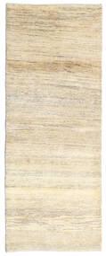 ギャッベ ペルシャ 絨毯 80X205 モダン 手織り 廊下 カーペット ベージュ/暗めのベージュ色の (ウール, ペルシャ/イラン)