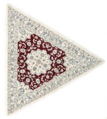ナイン 9La 絨毯 250X250 オリエンタル 手織り ベージュ/薄い灰色 大きな (ウール/絹, ペルシャ/イラン)