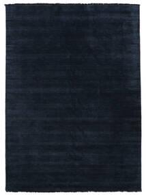 ハンドルーム Fringes - 紺色の 絨毯 200X300 モダン 紺色の/青 (ウール, インド)