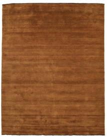 ハンドルーム Fringes - 茶 絨毯 200X250 モダン 茶 (ウール, インド)