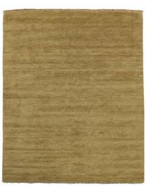ハンドルーム Fringes - オリーブグリーン 絨毯 200X250 モダン オリーブ色/茶 (ウール, インド)