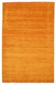 ハンドルーム Fringes - オレンジ 絨毯 180X275 モダン 錆色/オレンジ (ウール, インド)