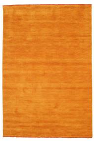 ハンドルーム Fringes - オレンジ 絨毯 160X230 モダン 黄色/薄茶色/オレンジ (ウール, インド)