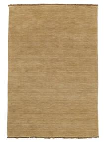 ハンドルーム Fringes - ベージュ 絨毯 160X230 モダン 暗めのベージュ色の/薄茶色 (ウール, インド)