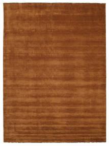 ハンドルーム Fringes - 茶 絨毯 300X400 モダン 茶 大きな (ウール, インド)