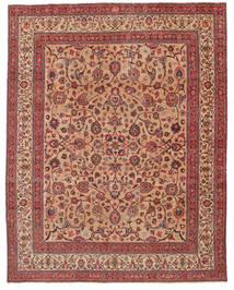 マシュハド パティナ 署名: Amoghli 絨毯 287X370 オリエンタル 手織り 錆色/深紅色の 大きな (ウール, ペルシャ/イラン)