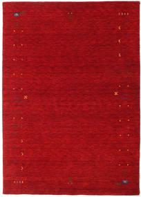 ギャッベ ルーム Frame - 赤 絨毯 160X230 モダン 赤/深紅色の (ウール, インド)
