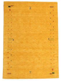 ギャッベ ルーム Frame - 黄色 絨毯 160X230 モダン オレンジ (ウール, インド)