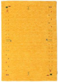 ギャッベ ルーム Frame - 黄色 絨毯 140X200 モダン オレンジ (ウール, インド)