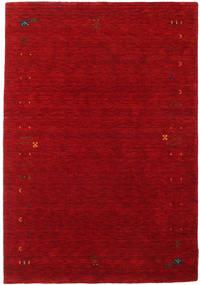 ギャッベ ルーム Frame - 赤 絨毯 140X200 モダン 深紅色の/赤 (ウール, インド)