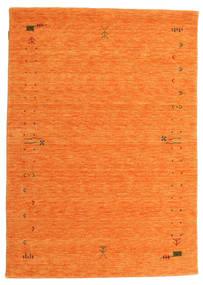 ギャッベ ルーム Frame - オレンジ 絨毯 140X200 モダン オレンジ (ウール, インド)