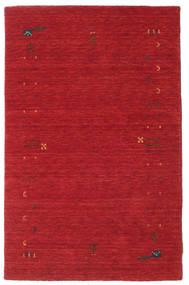 ギャッベ ルーム Frame - 錆色 赤 絨毯 100X160 モダン 赤 (ウール, インド)