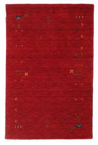 ギャッベ ルーム Frame - 赤 絨毯 100X160 モダン 赤/深紅色の (ウール, インド)