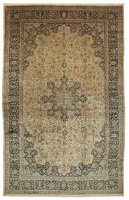 マシュハド Astan Ghods 絨毯 508X789 オリエンタル 手織り 薄茶色/濃いグレー 大きな (ウール, ペルシャ/イラン)