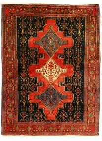 センネ 絨毯 126X175 オリエンタル 手織り (ウール, ペルシャ/イラン)