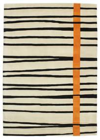 Gummi Twist Handtufted - オレンジ 絨毯 160X230 モダン 暗めのベージュ色の/ベージュ/黒 (ウール, インド)