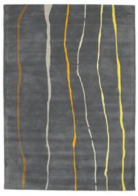 Flaws Handtufted - グレー 絨毯 160X230 モダン 濃いグレー/薄い灰色 (ウール, インド)