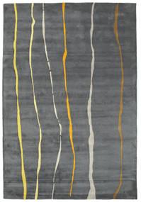 Flaws Handtufted - グレー 絨毯 200X300 モダン 薄い灰色/濃いグレー/青 (ウール, インド)