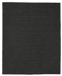 キリム ルーム - 黒 絨毯 200X250 モダン 手織り 黒 (ウール, インド)