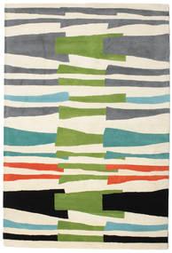 Stripe Over And Under Handtufted 絨毯 200X300 モダン (ウール, インド)