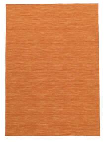 キリム ルーム - オレンジ 絨毯 160X230 モダン 手織り オレンジ (ウール, インド)