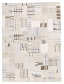 キリム パッチワーク 絨毯 171X230 モダン 手織り ベージュ/ホワイト/クリーム色 (ウール, トルコ)