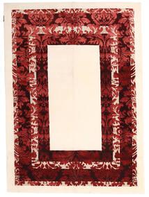 Himalaya 絨毯 150X210 モダン 手織り ベージュ/深紅色の ( インド)