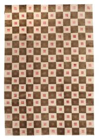 Himalaya 絨毯 193X282 モダン 手織り 茶/ベージュ (ウール, インド)